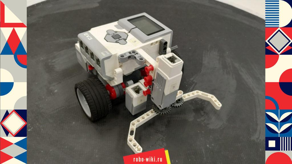 💾 Модульная робоплатформа Lego EV3 МРП-В1 / Инструкция приводной платформы - базовой тележки v1.4