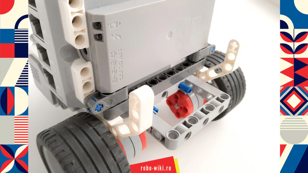 💾 Модульная робоплатформа Lego EV3 МРП-В2 v1.2
