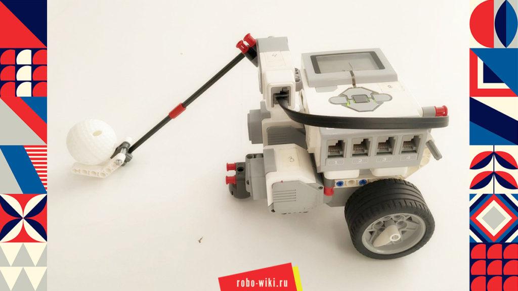 💾🔑 Игра «РобоБаскетбол» с Lego EV3 v1.3