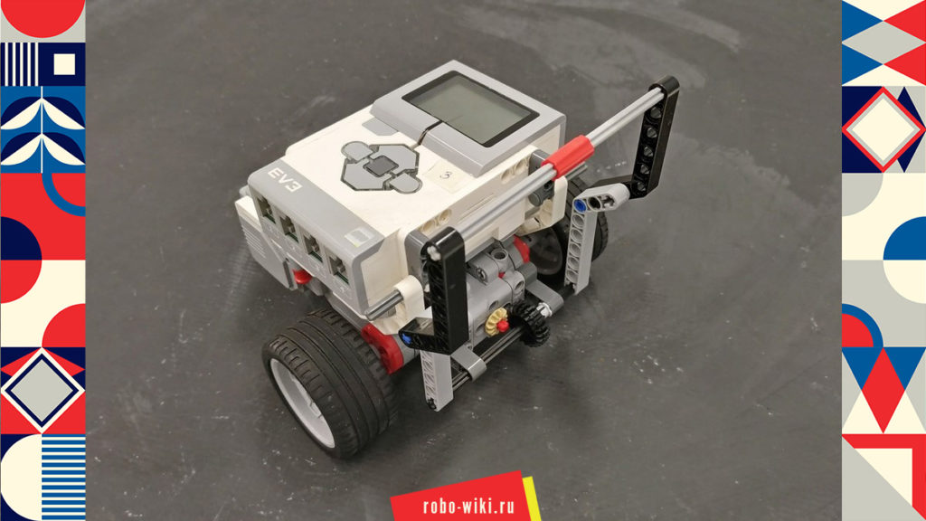 💾 Опускающийся захват Lego EV3 на среднем моторе – вариант 1 v1.0