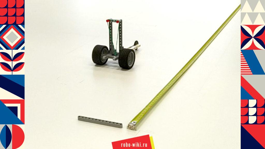💾 Машинка Lego EV3 на резиномоторе v1.2