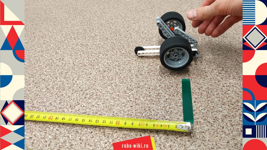 💾 Инерционная машинка Lego EV3 v1.3