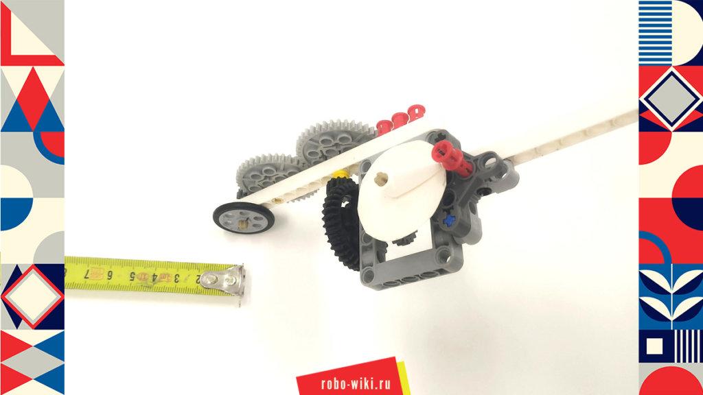💾🔑 Курвиметр из конструктора Lego Mindstorms Education EV3 v1.0