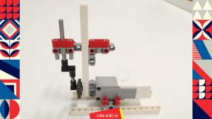 💾🔑 Кривошипно-шатунный механизм Lego EV3 и мятник Капицы v1.0