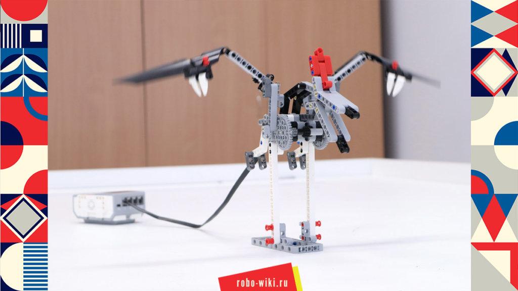 💾🔑 Птерозавр из Lego EV3 (Динозавры Lego) v1.0