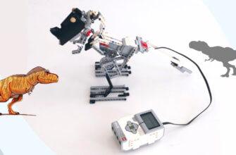 💾🔑 Тираннозавр из Lego EV3 (Динозавры Lego) v1.0