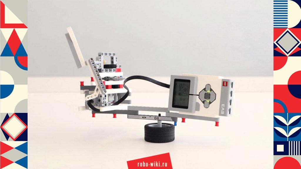 💾🔑 Электрический самолет с пропеллером из Lego EV3 v1.0