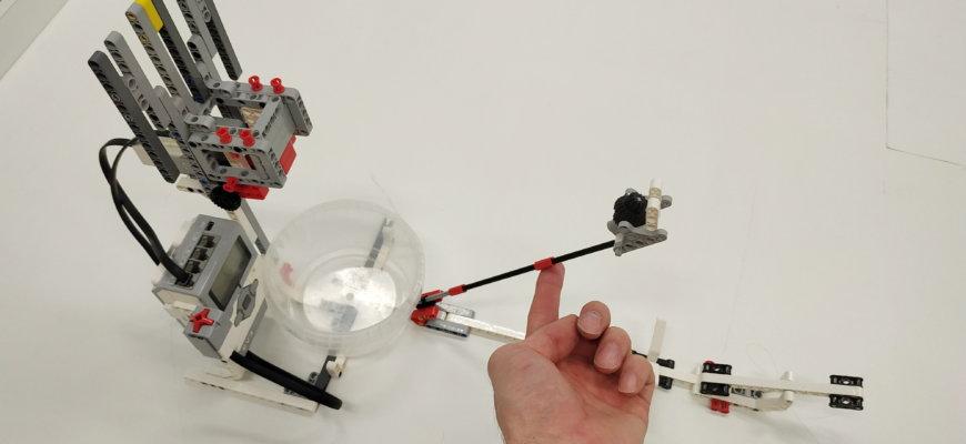 💾🔑 Баскетбол с автоматическим счетчиком из Lego EV3