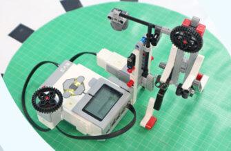 💾🔑 Робот-боксёр и датчик касания из Lego Education EV3